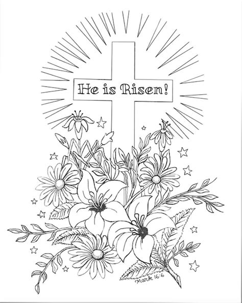 he is risen coloring page he is risen coloring page flanders family homelife