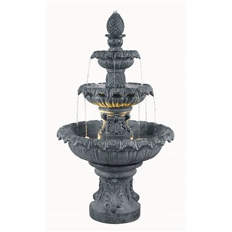 enki outdoor  tier floor fountain  overstock