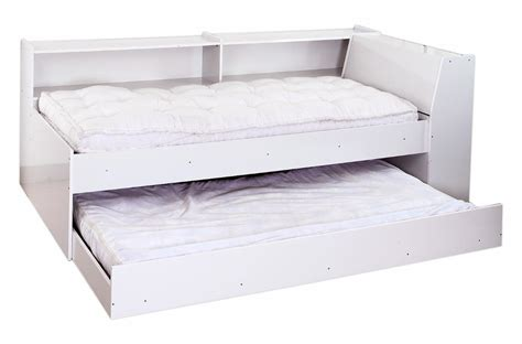 White Trundle Bed by Buy Vividha Candice Trundle Bed Set White In