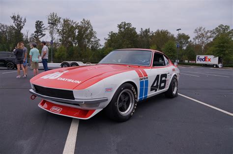 pergut car 100 datsun race car japan historics advan racing