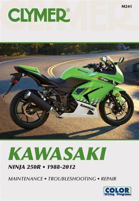 Kawasaki Service Manuals by Kawasaki 250 Motorcycle 1988 2012 Service Repair