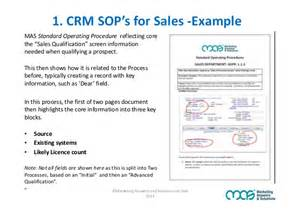 marketing sop template are sop s the secret to crm adoption success