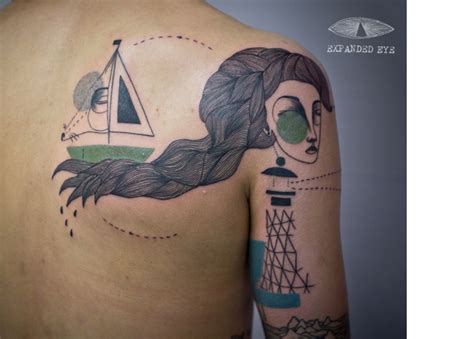 body canvas tattoo expanded eye and the human as a canvas tattoos and