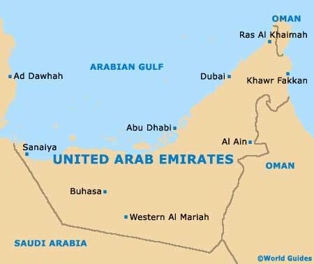 dubai uae map dubai maps and orientation dubai united arab emirates