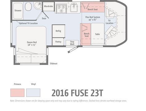 Motorhome Floor Plans the winnebago fuse ignites winnebagolife