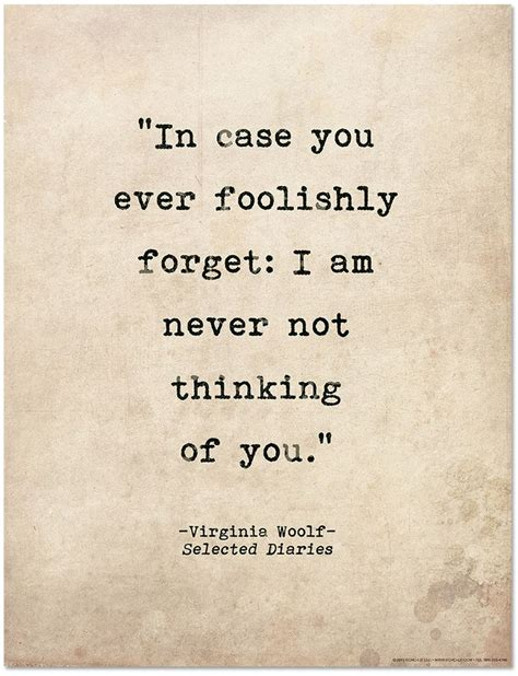 thoughts of you books quote poster in you every foolishly forget