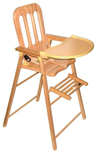chaise bebe bois chaises hautes bois ref 20016000
