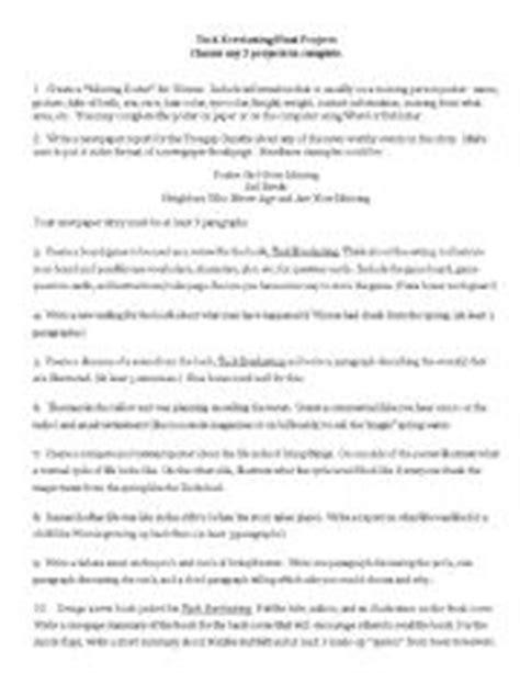 Tuck Everlasting Worksheets by Tuck Everlasting Worksheets Worksheets Tutsstar