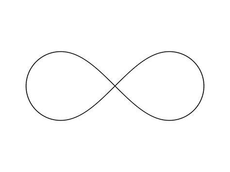 free infinity infinity symbol vector clipart best