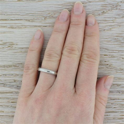 wedding ring removal uk tiffany co milgrain wedding band ring platinum