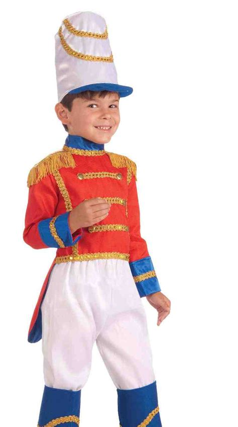 kids toy tin soldier xmas nutcracker halloween fancy dress