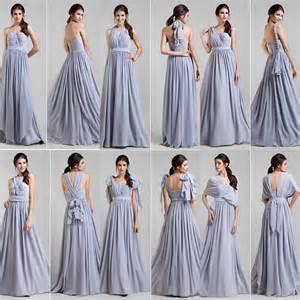 How To Fold Infinity Dress 2014 Stunning Lavander A Line Chiffon Convertible
