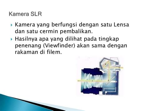 Cermin Tingkap ciri ciri dan kepentingan kamera dlm p p