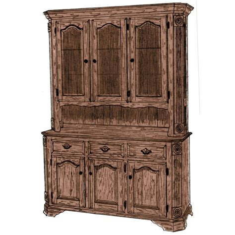 georgian hutch amish crafted furniture