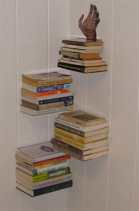 diy floating bookshelves creative diy bookshelf ideas for your shelfie diy ready