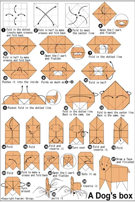 Difficult Origami Diagrams - origami