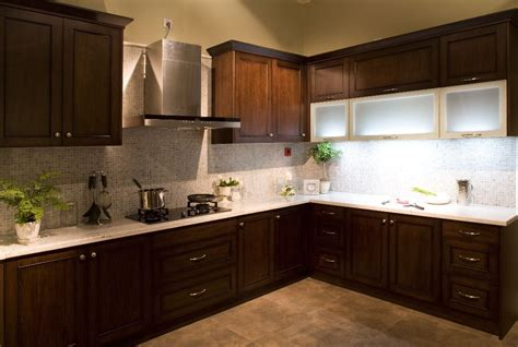 Best Stock Kitchen Cabinets Shaker Style Cabinets Espresso Roselawnlutheran