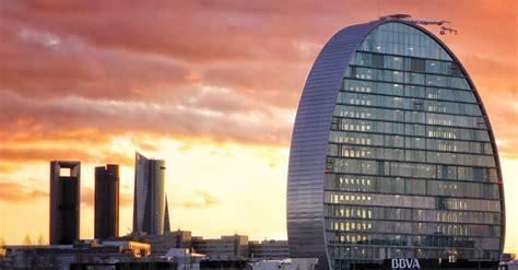 bbva oficinas en madrid la vela l 237 a el skyline de madrid bbva