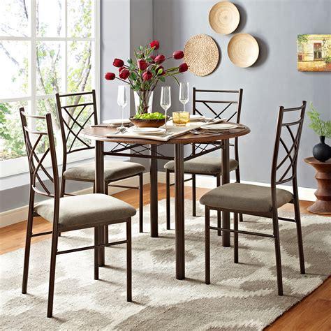 essential home table kmart essential home santiago 5 pc drop leaf dining set