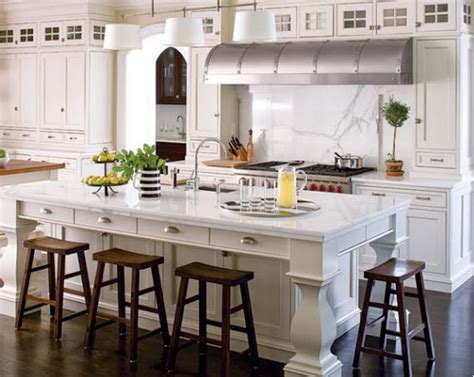 white kitchen marble island calfinder hooked on houses