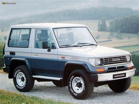 Toyota Landcruiser Ii Toyota Land Cruiser Ii Lj71g 1990 96 Wallpapers 1024x768