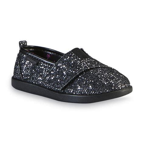 joe boxer toddler shoes joe boxer toddler s buffalo black glitter casual shoe