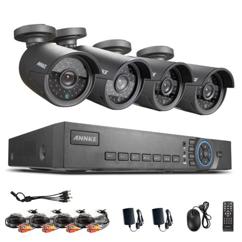 sistemas de vigilancia con camaras sistema de videovigilancia profesional cctv con 4 camaras