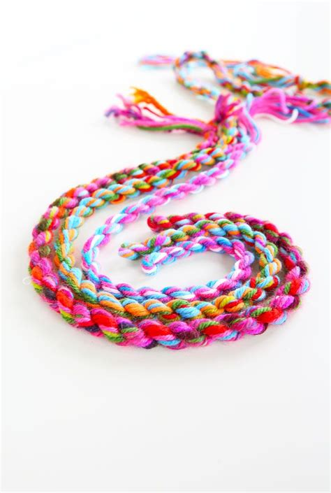 rope craft projects yarn craft idea how to make yarn rope crafts leather