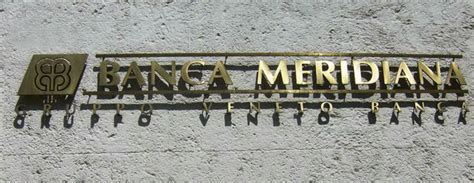 Banca Meridiana by Banca Meridiana Emmebi Sign