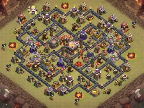 Overall Only Tanpa Inner top 16 best th10 war base 2018 new anti valks