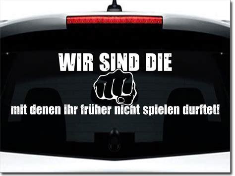 Autoaufkleber Spr Che by Autoaufkleber B 246 Se Jungs Heckscheibenaufkleber Spruch