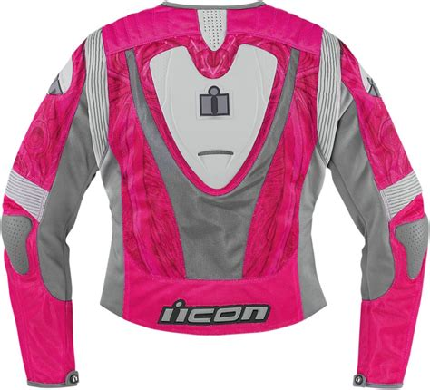 pink motorcycle jacket icon overlord sportbike sb1 women s mesh motorcycle jacket