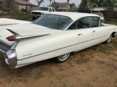 California Cadillac by 1959 Cadillac Sdv California Non Undercoated Running Car With Ac 1960 Hubcaps