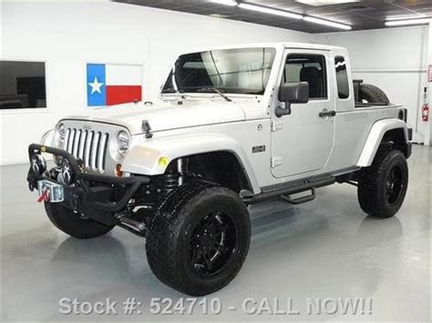 Jeep Jk 8 For Sale Purchase Used 2011 Jeep Wrangler Jk 8 Truck 4x4 Auto