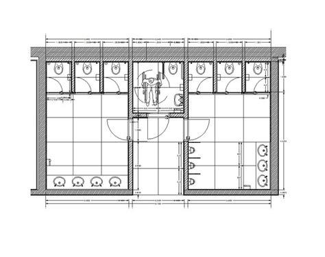 1264 Public restroom.png (1020×806)   archi   Pinterest
