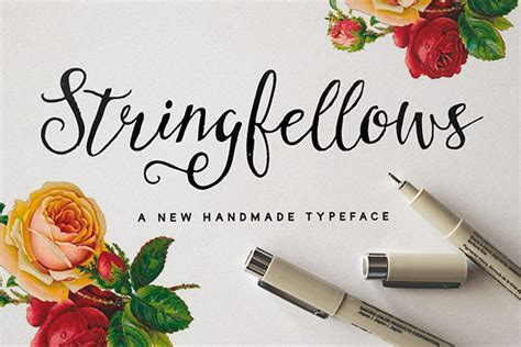 Font Handmade - 8 handmade fonts to add to your collection