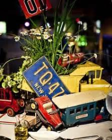 1000 Images About Themed Center Pieces On Pinterest Classic Car Centerpieces