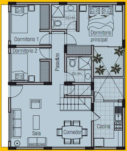 plano de vivienda de    planos de casas gratis