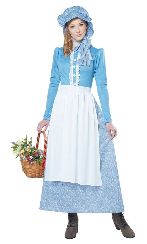 simple and clever diy costumes prairie pointe costume femme prairie w20225