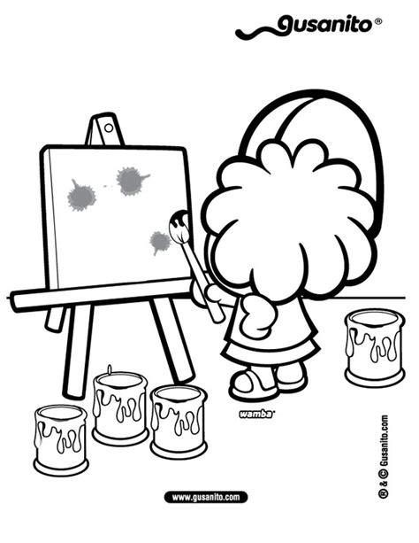 dibujo de iman para colorear y pintar dibujos para colorear wamba pintando es hellokids com