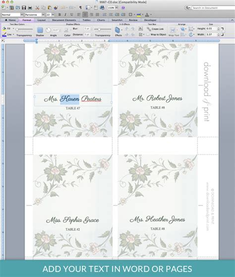free microsoft word business card template cards outstanding plain