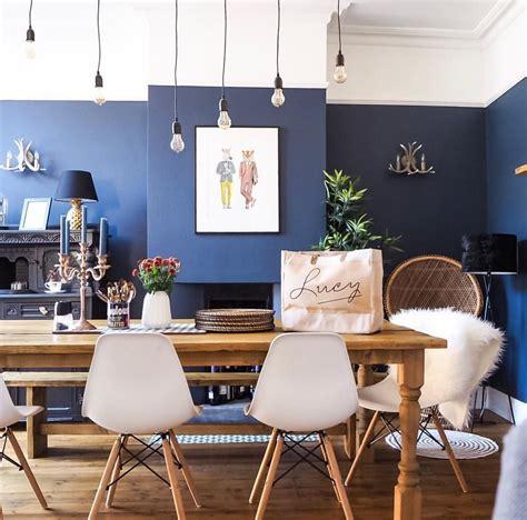 dark interior design  victorian terrace dining room