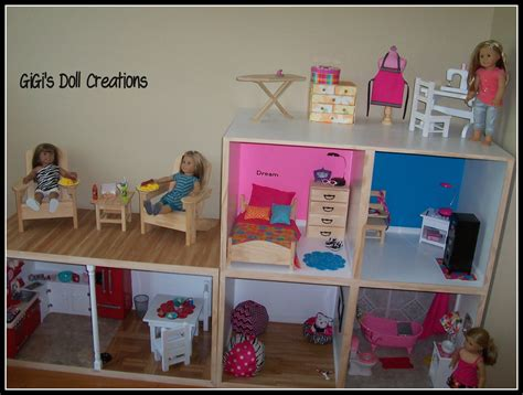 diy american girl doll house gigi s doll and craft creations american girl doll house