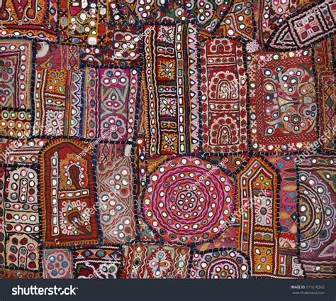 Indian Patchwork - india rajasthan jaipur indian handmade patchwork carpet