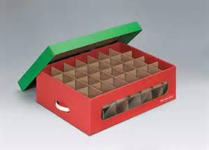 amazon com bankers box holiday ornament storage box