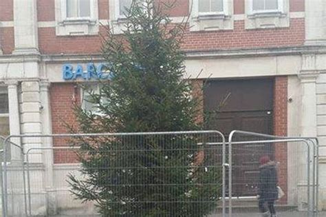 why liscard won t be having a christmas tree this year