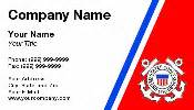 coast guard business cards coast guard business cards