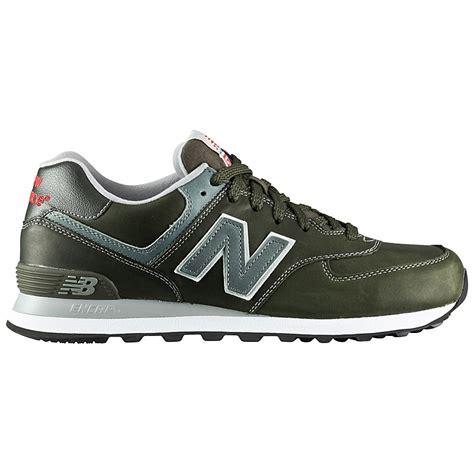 balance classic leather shoes ml574llg breen ml 574