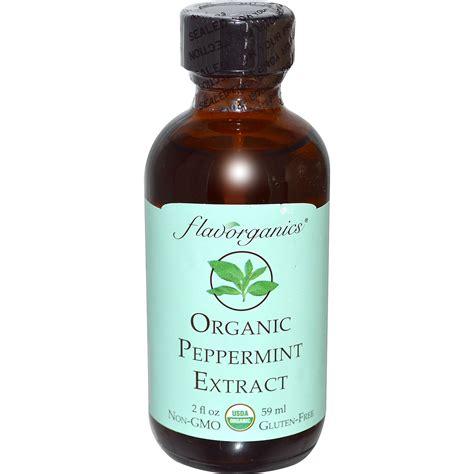 Links Peppermint by Flavorganics Organic Peppermint Extract 2 Fl Oz 59 Ml