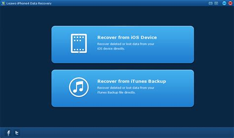 reset software iphone how to recover iphone files after factory reset leawo